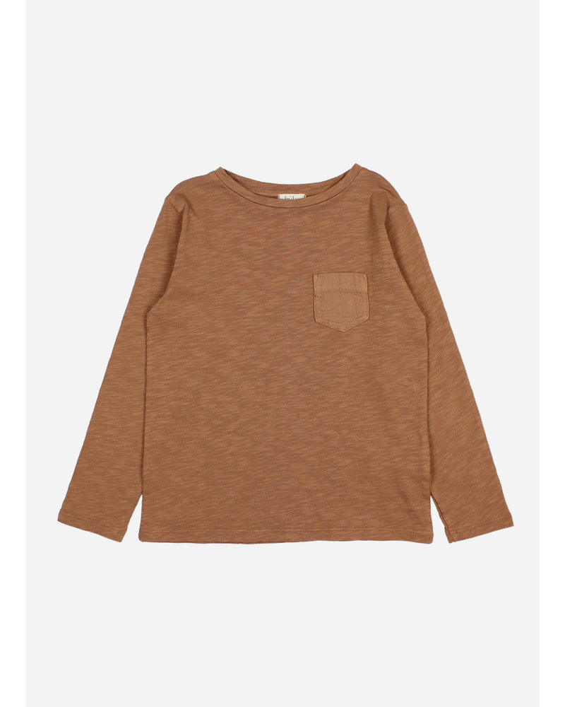 Buho pocket shirt muscade