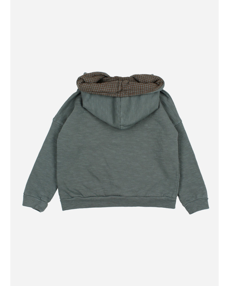 Buho plain hoodie sweatshirt north sea
