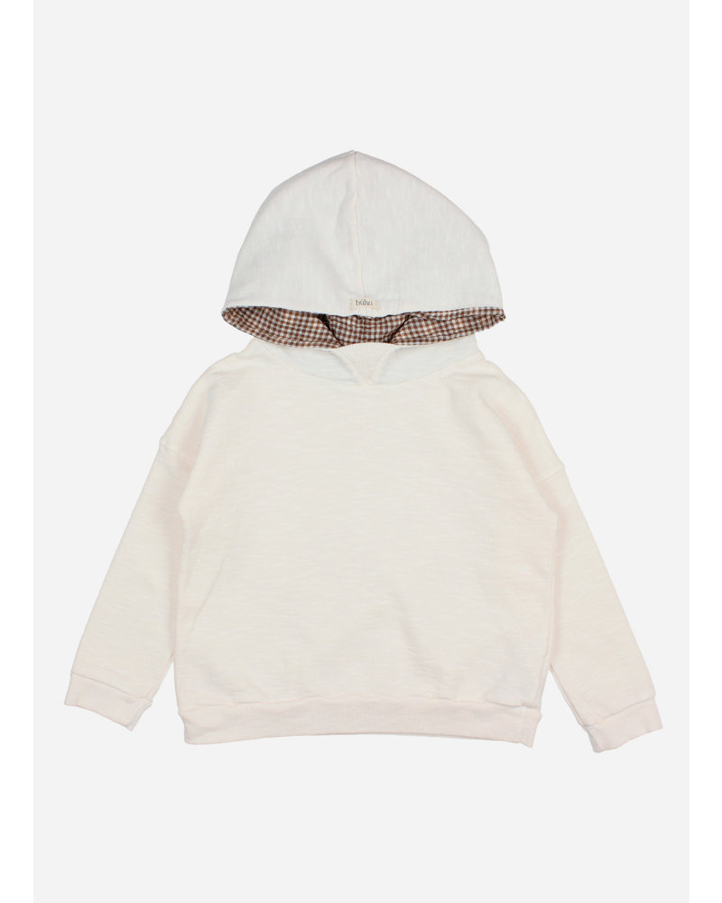 Buho plain hoodie sweatshirt milk
