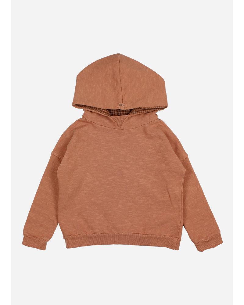 Buho plain hoodie sweatshirt hazel