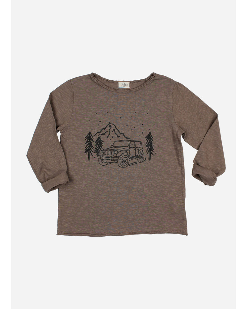 Buho jeep tshirt taupe