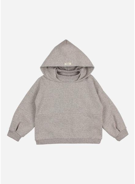 Buho cozy hoodie sweatshirt stone