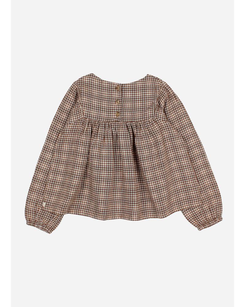 Buho check blouse mini vichy