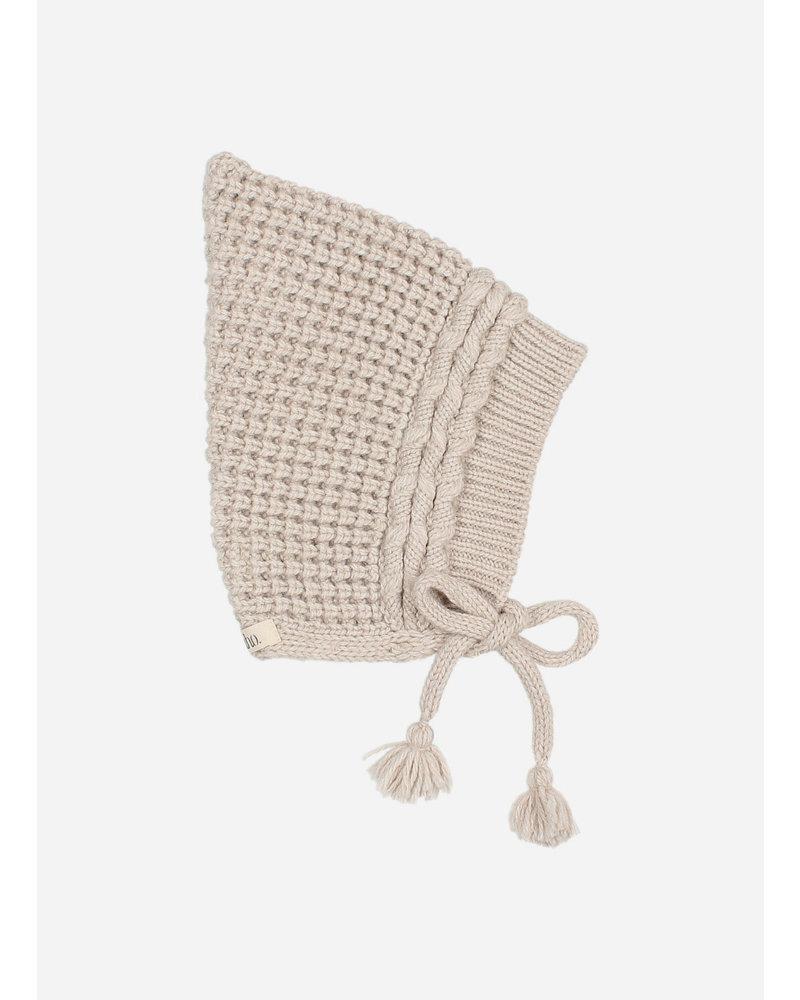 Buho baby soft knit hat natural
