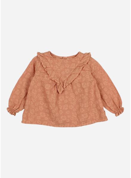 Buho baby floral jacquard blouse hazel