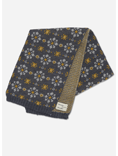 Wander & Wonder floral scarf smoke