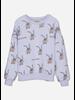 Wander & Wonder bunny sweatshirt mauve bunny