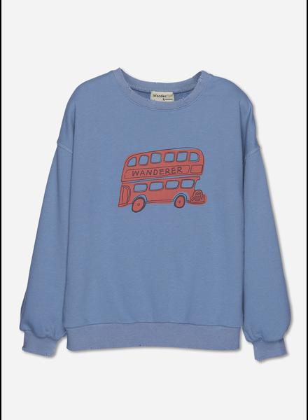 Wander & Wonder bus sweatshirt fog