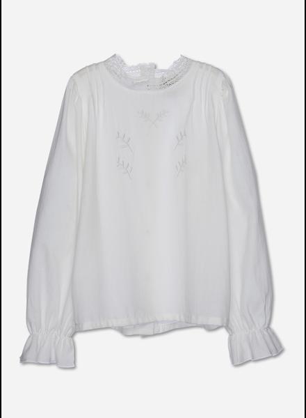 Wander & Wonder jasmine blouse ivory