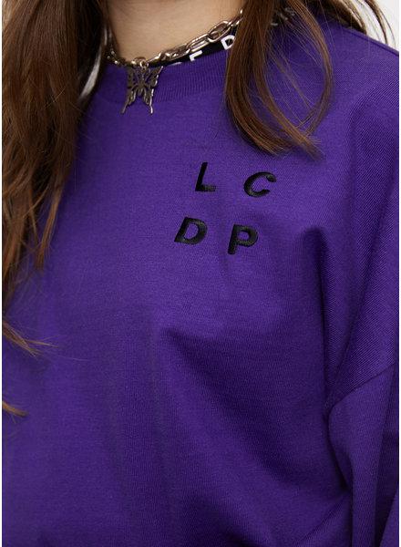 Les Coyotes De Paris lindy tee wild purple