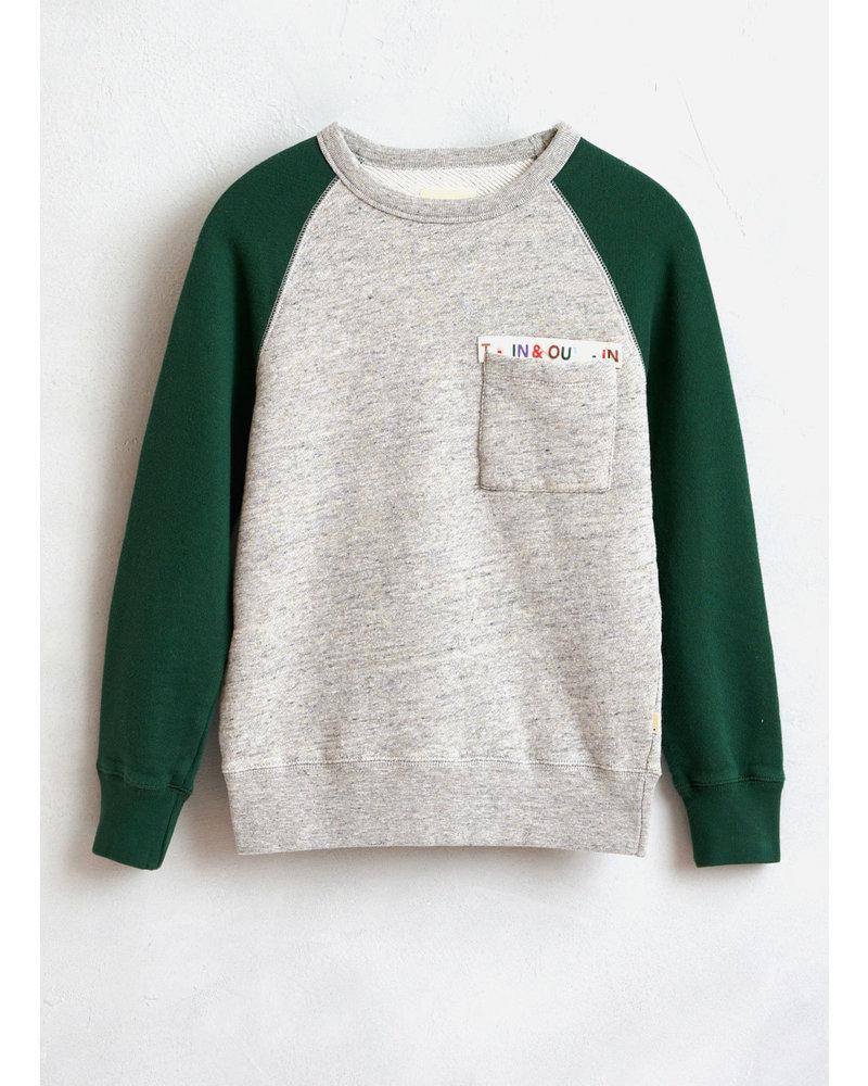 Bellerose vuk sweatshirts h.grey