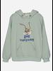 Wander & Wonder bunny hoodie mint