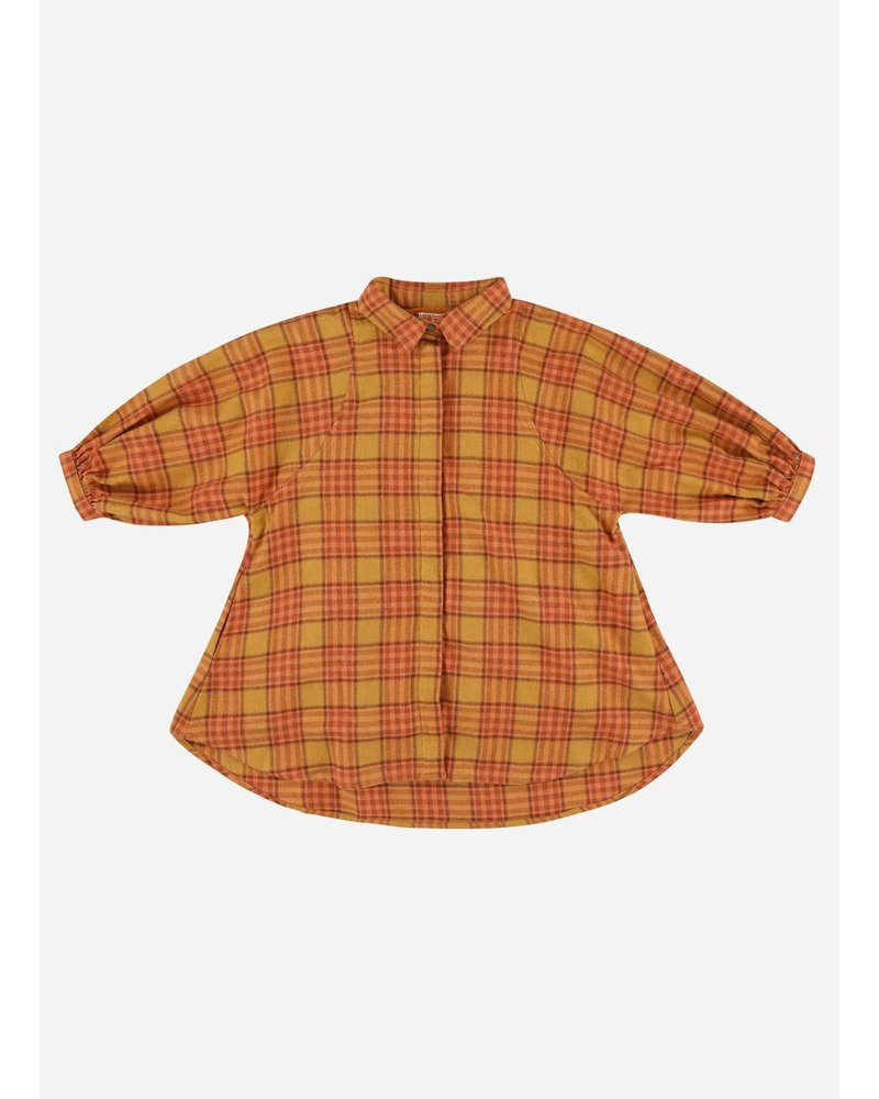 Morley oregon melton orange dress