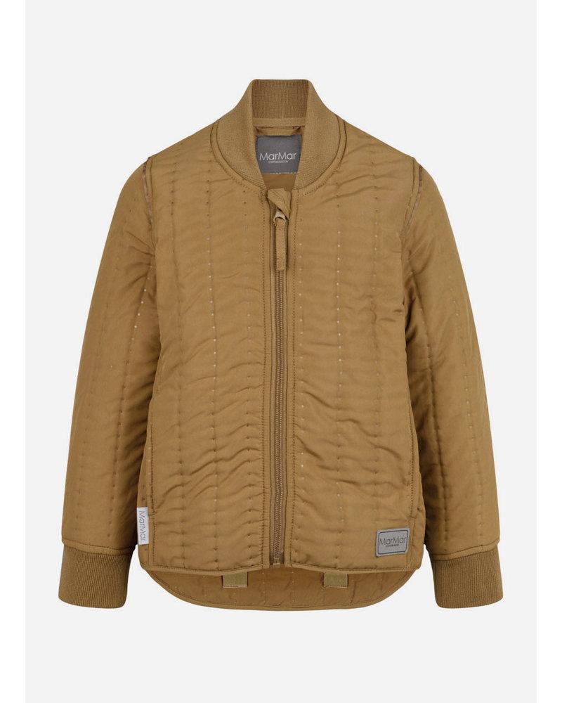 MarMar Copenhagen orry thermo jacket dark mustard