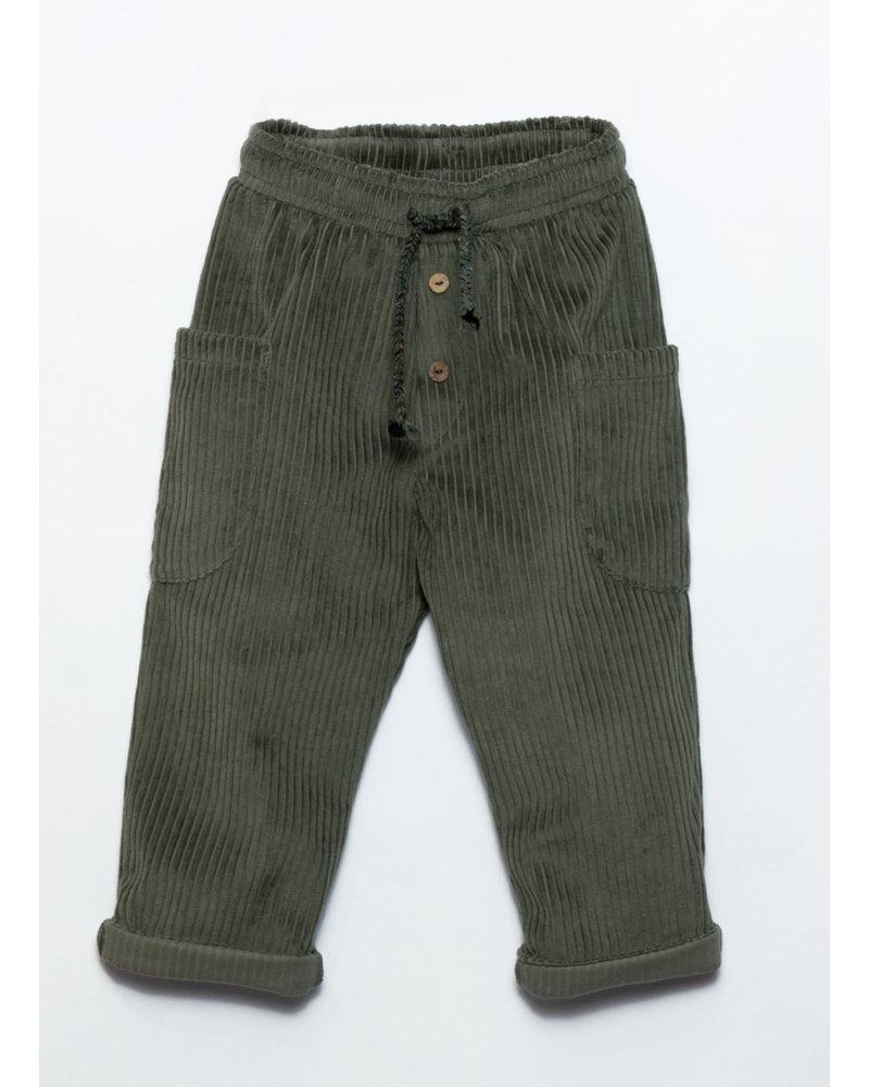 Play Up corduroy trousers avocado 3AJ11608 P7159