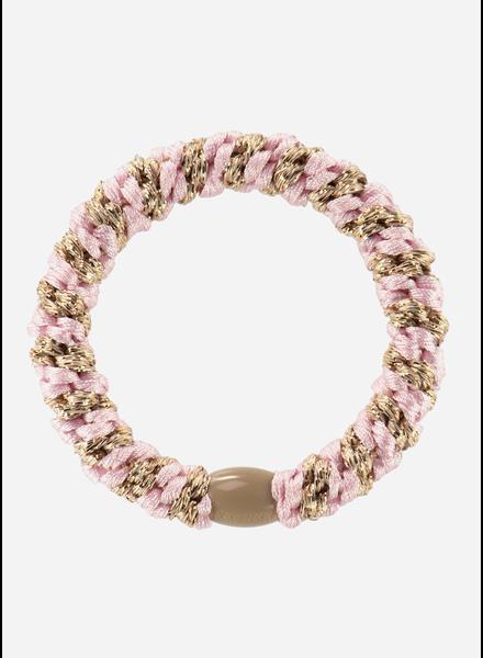 Kknekki by Bon Dep light pink beige glitter