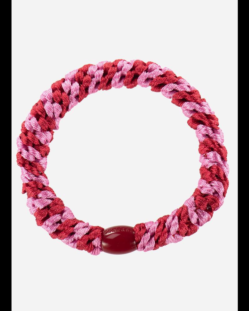 Kknekki by Bon Dep red bubblegum stripe