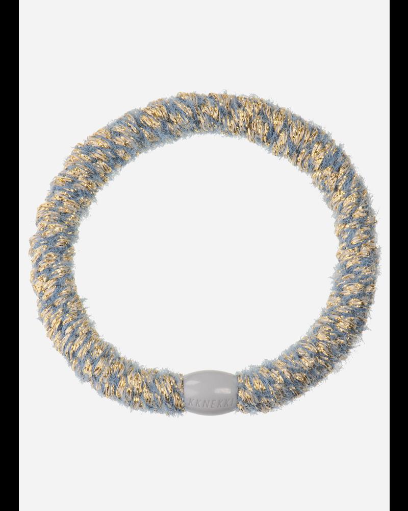 Kknekki by Bon Dep velvet glitter jeansblue