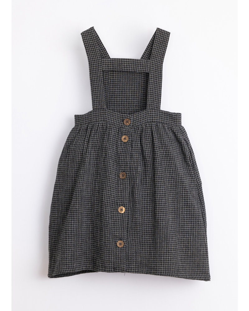 Play Up vichy woven dress frame 4AJ11455 P9051