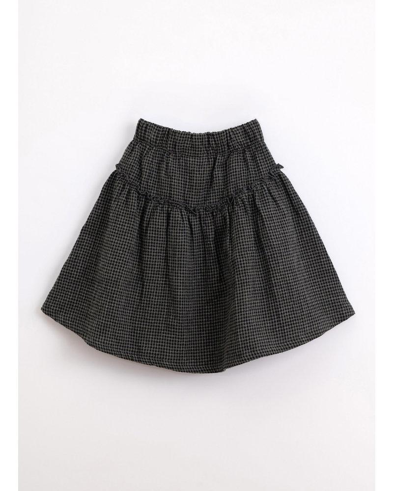 Play Up vichy woven skirt frame 4AJ11750 P9051