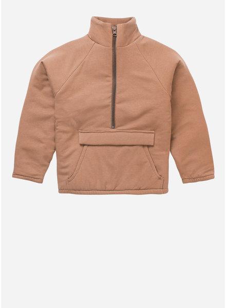 Mingo padded jacket chocolate milk