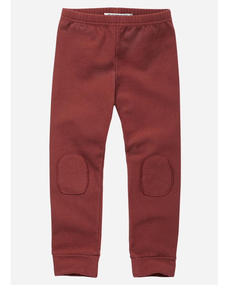 Mingo winter legging brick red