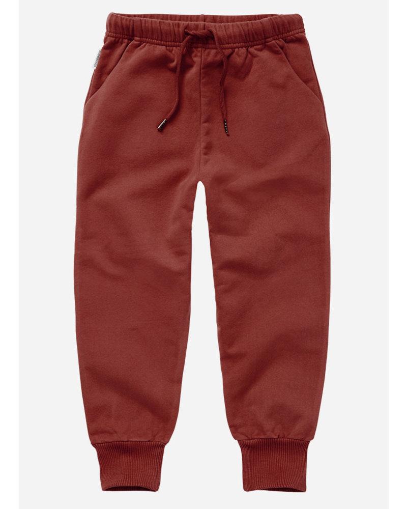 Mingo sweat pants brick red