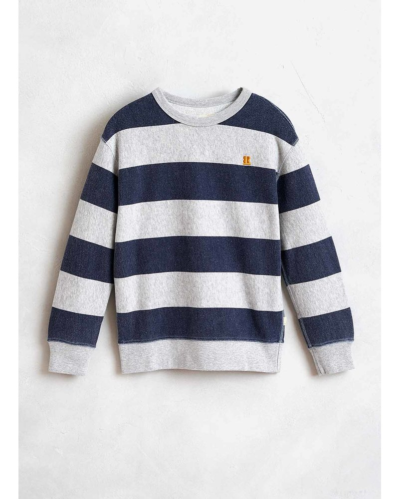 Bellerose fago sweatshirt h. grey