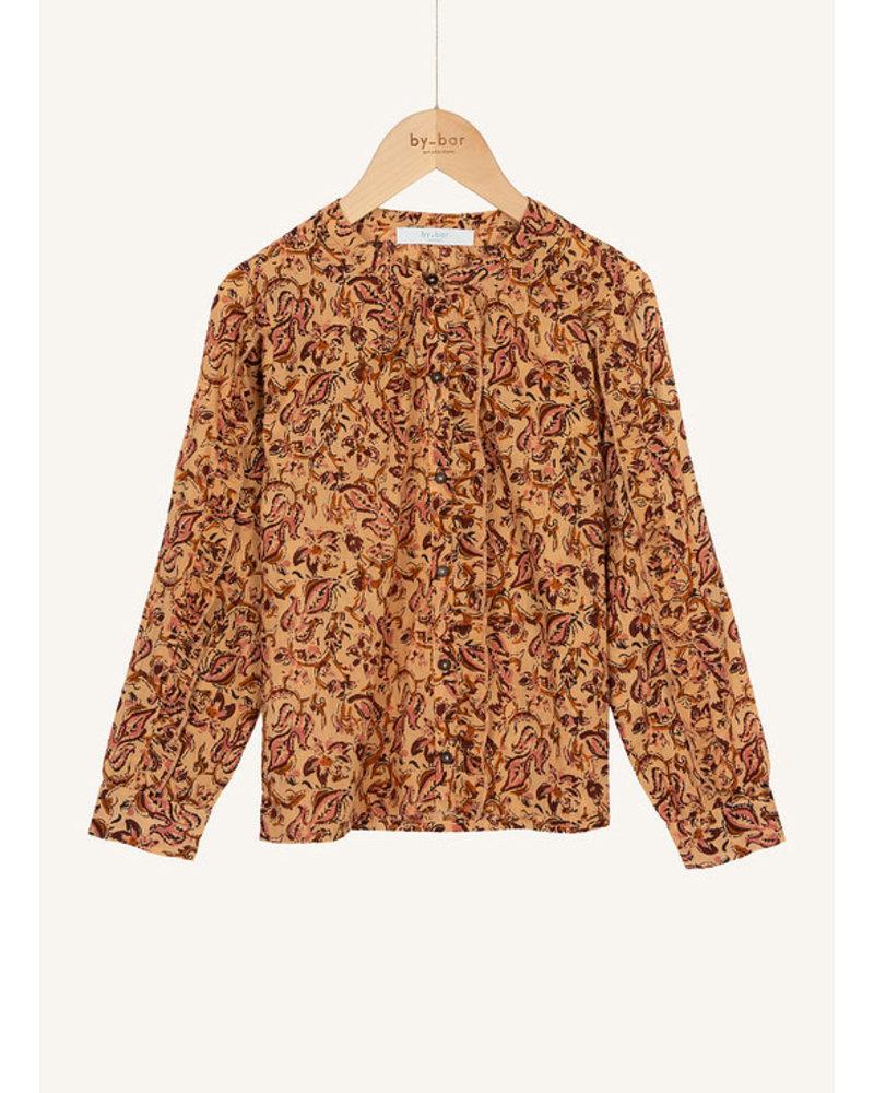 By Bar roan block blouse block print