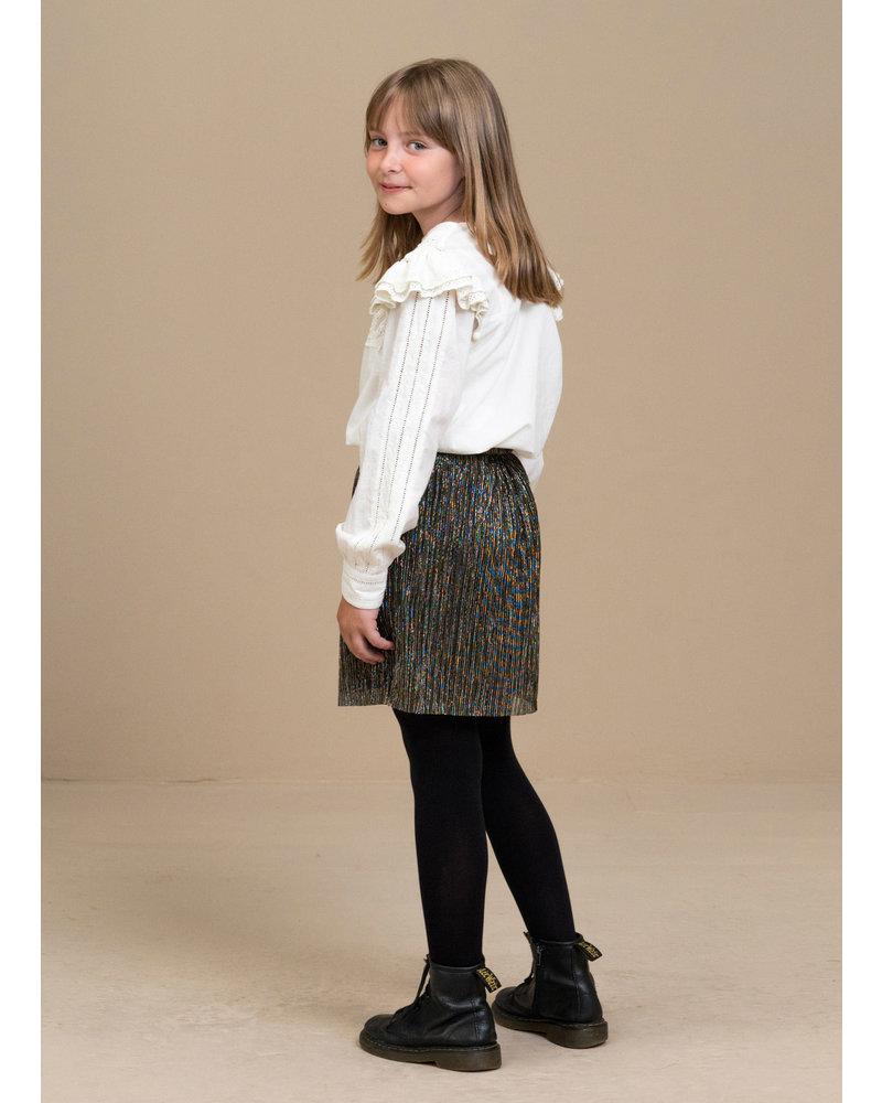 By Bar sparkle skirt gold