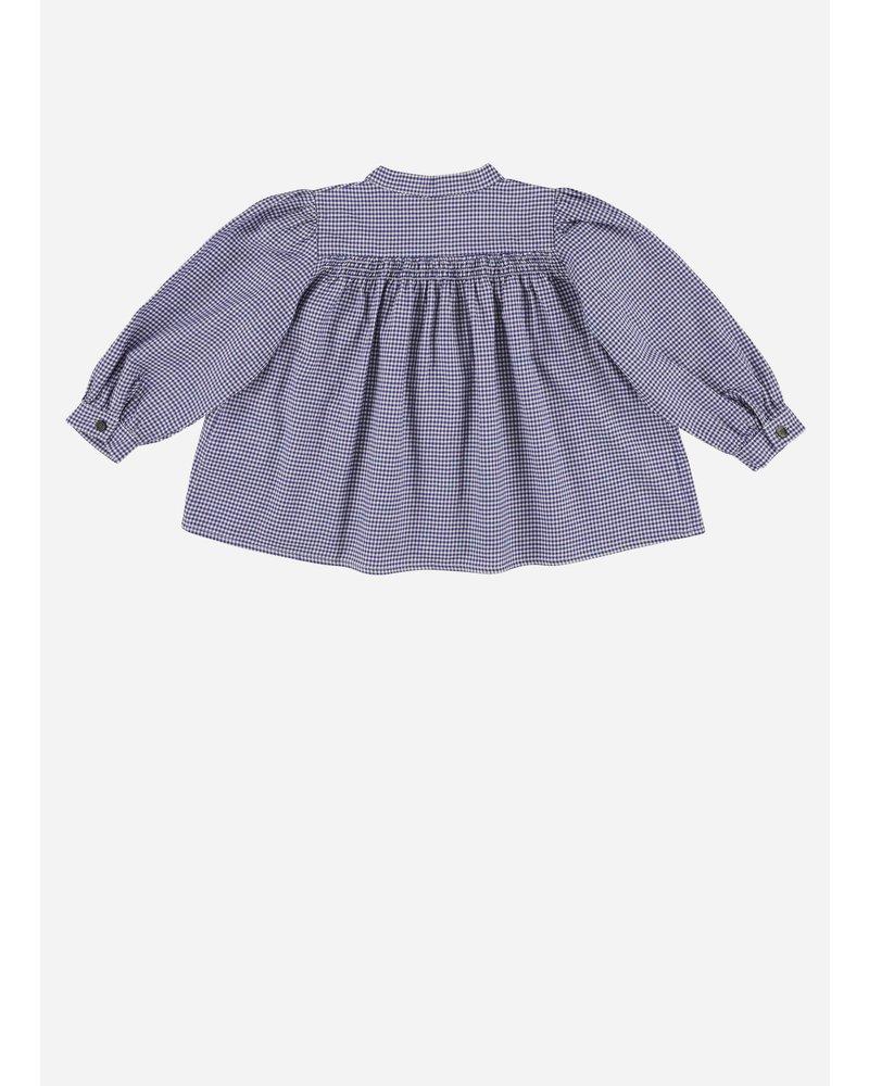 Morley opale pasubio bleu girlsshirt