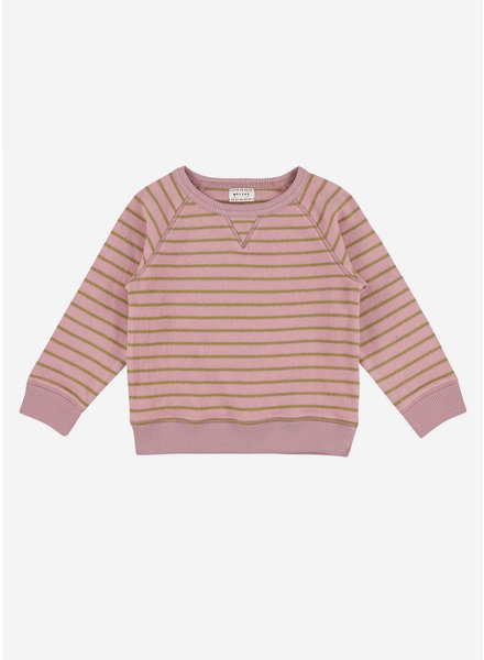 Morley mozes softstripe pink sweat