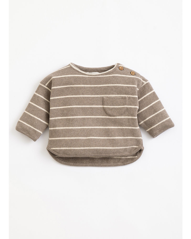 Play Up striped jersey sweater frame 1AJ11353 R265G