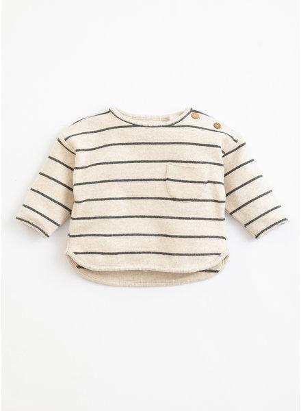 Play Up striped jersey sweater miro 1AJ11353 R264G