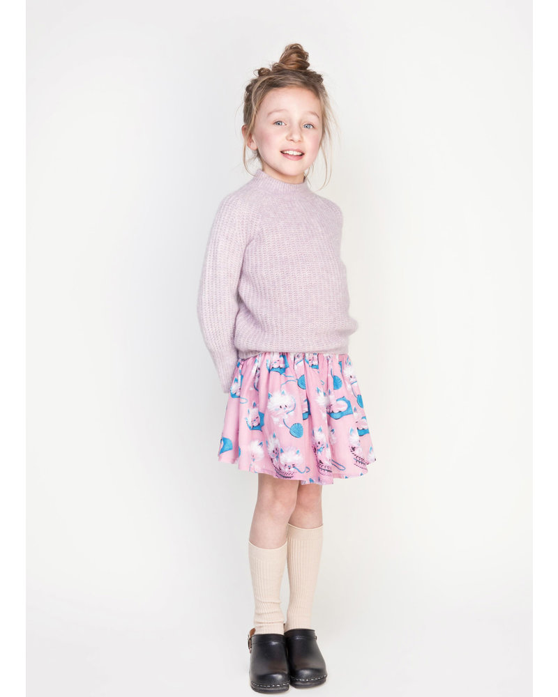 Morley mona kitty pink skirt