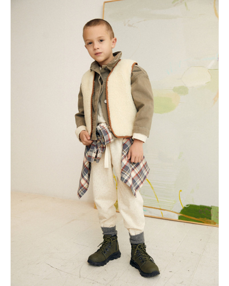 The New Society gabrielle waistcoat natural
