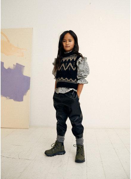 The New Society lenny waistcoat black