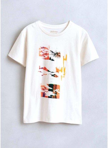 Bellerose kenny tshirt vintage white