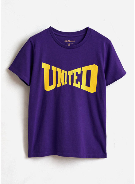 Bellerose kenny tshirt ultraviolet