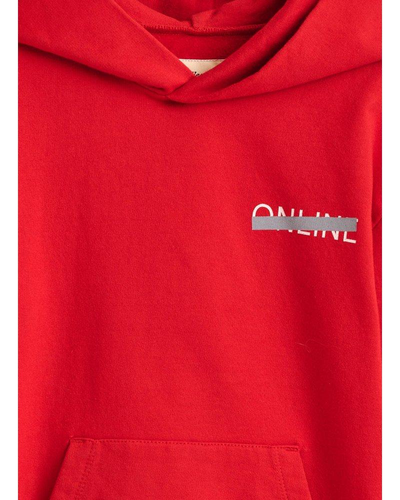 Bellerose binch sweatshirt ketchup