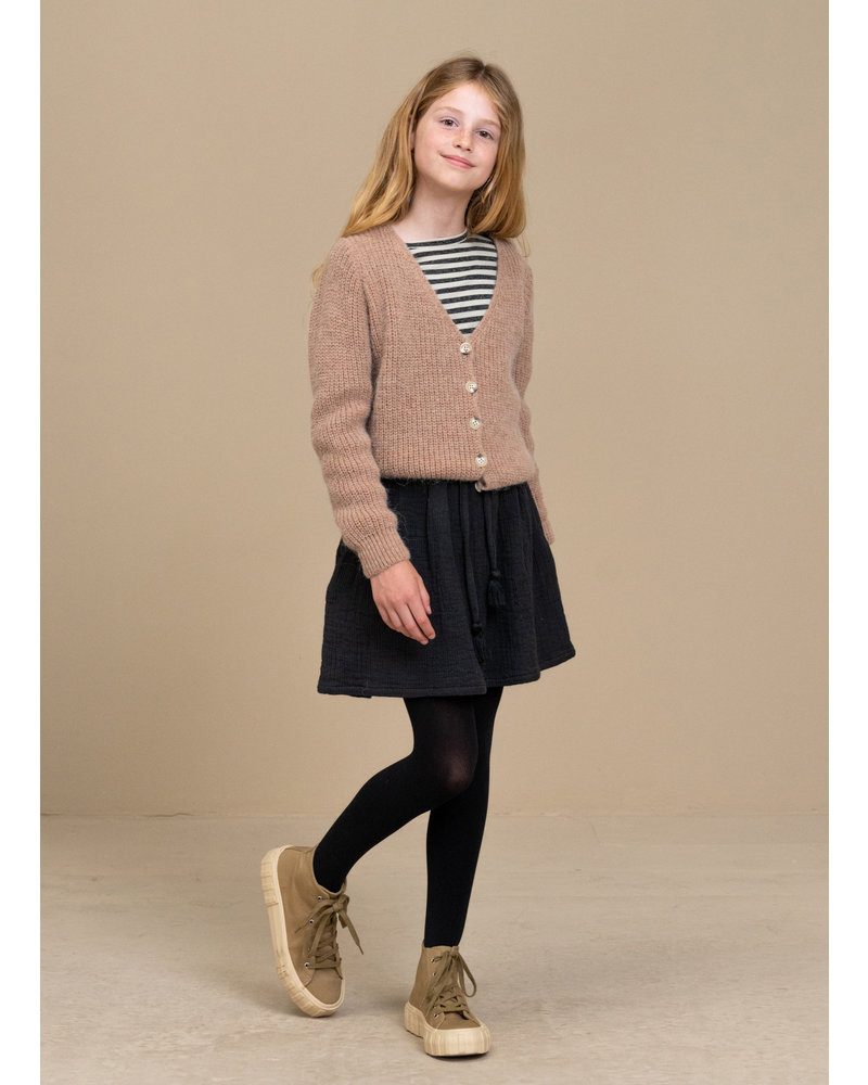 By Bar quinty cardigan old pink