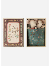 Maileg baby mice -  twins in box