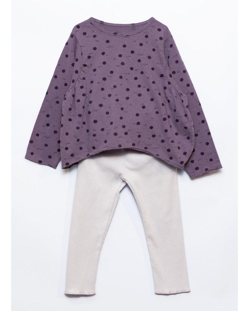 Play Up rib pijama lavender 4AJ10908 E405P