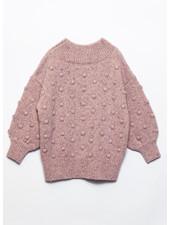 Play Up tricot sweater cor de rosa 4AJ11354 P4120