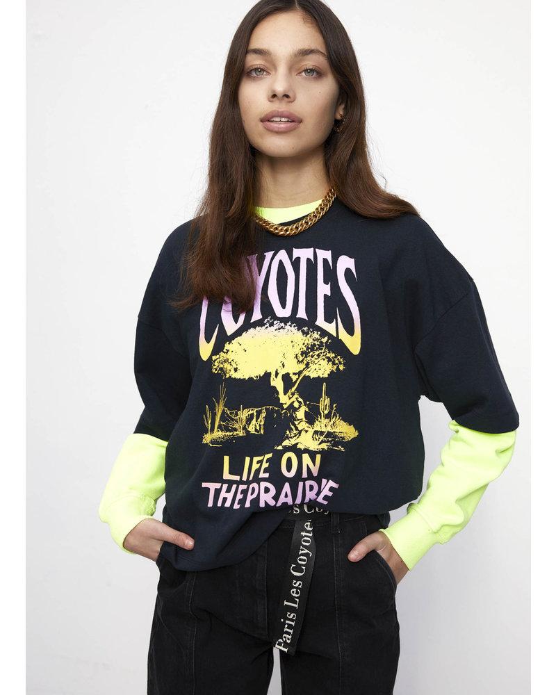 Les Coyotes De Paris cindy washed black