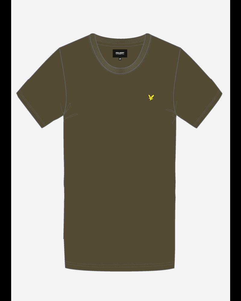 Lyle & Scott classic t-shirt dark olive