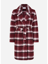 Designer Remix Girls jayden coat red check