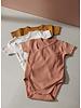 Liewood hali body stocking ss 2-pack tuscany rose/sandy mix