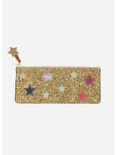 Mimi and Lula galaxy glitter pencil case