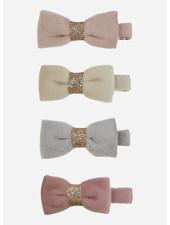 Mimi and Lula tinkerbell velvet bow clips